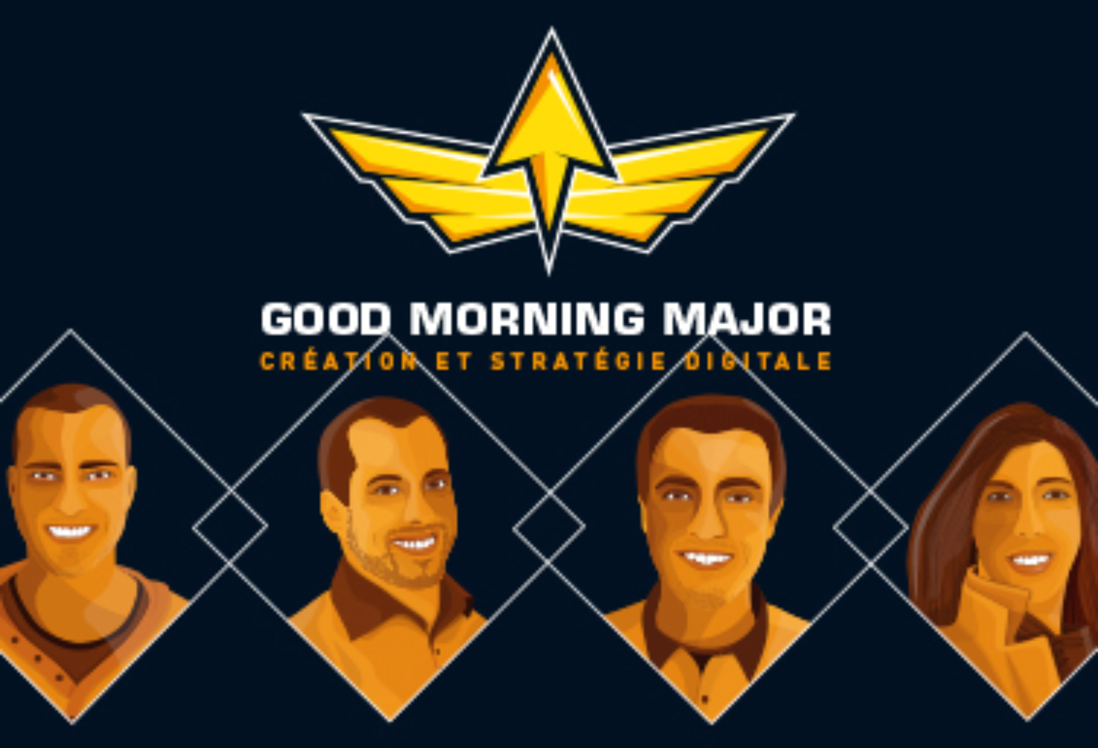 [COWORKERS DE LA SEMAINE] Good Morning Major, 4 Plagistes en un