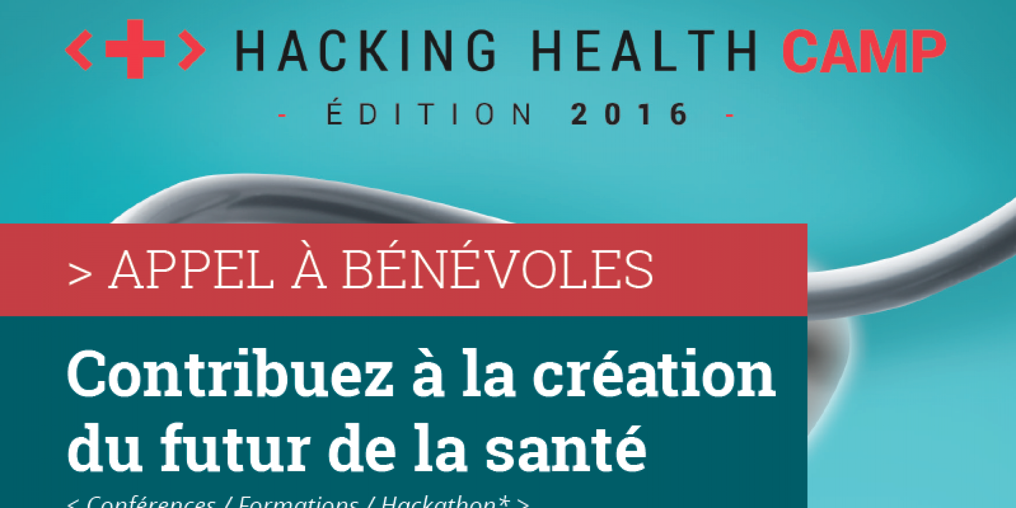 Hacking Health Camp – Appel à bénévoles