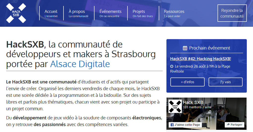 Les hackers d'Alsace Digitale !
