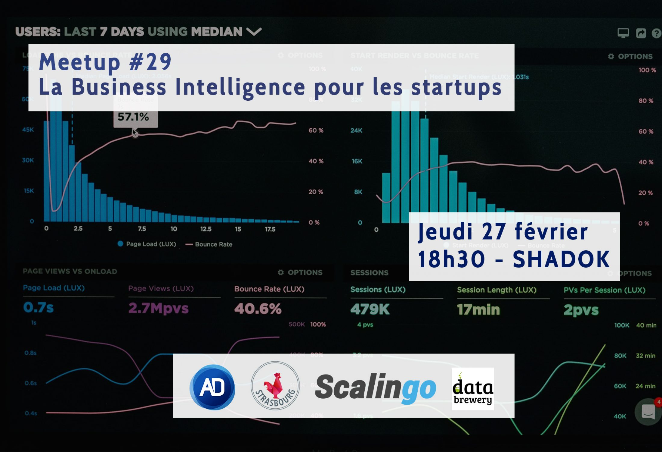 Meetup #29 : La Business Intelligence pour les Startups